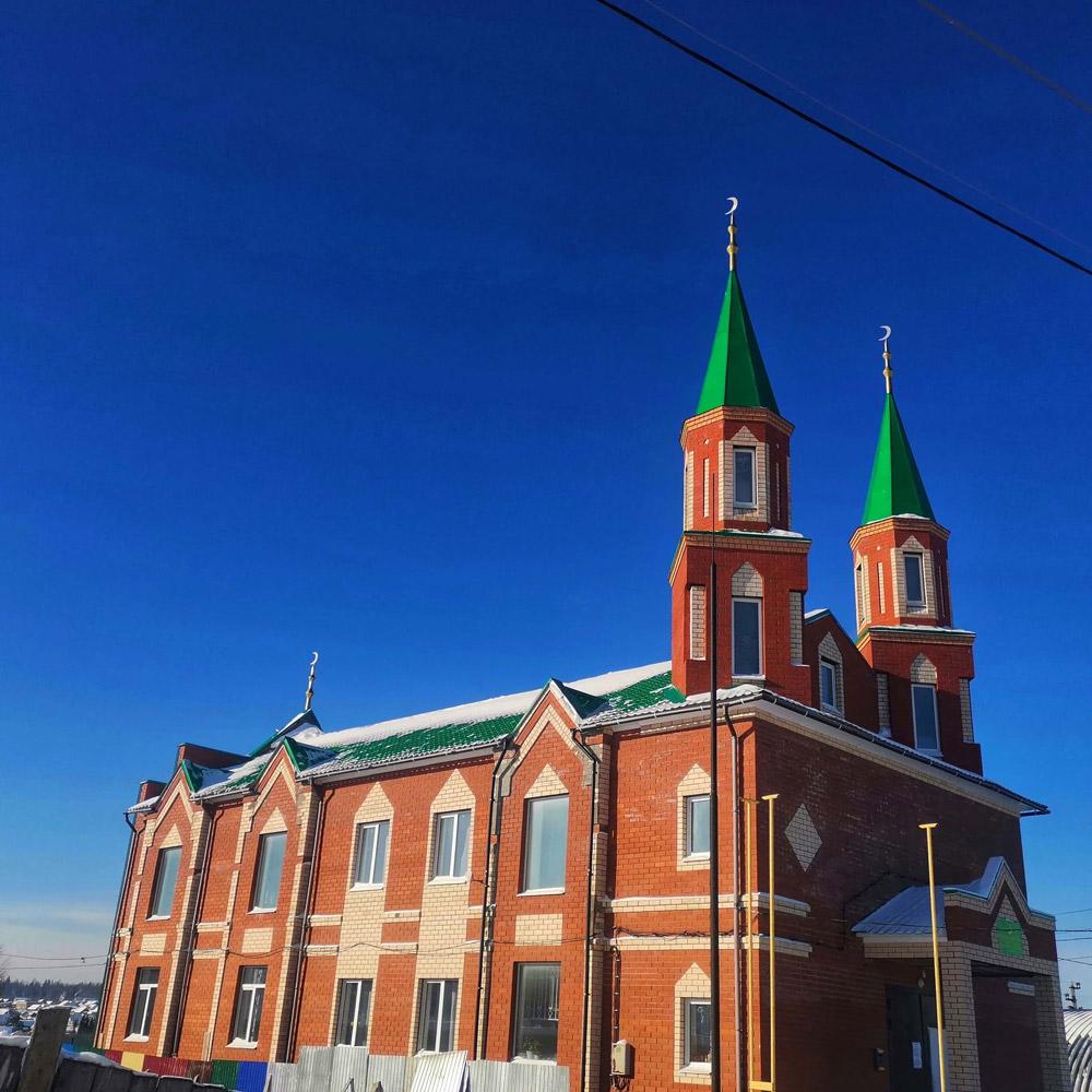 Соборная мечеть посёлок Октябрьский
