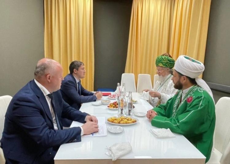 Талгат Таджуддин провел встречу с Губернатором Пермского края Дмитрием Махониным