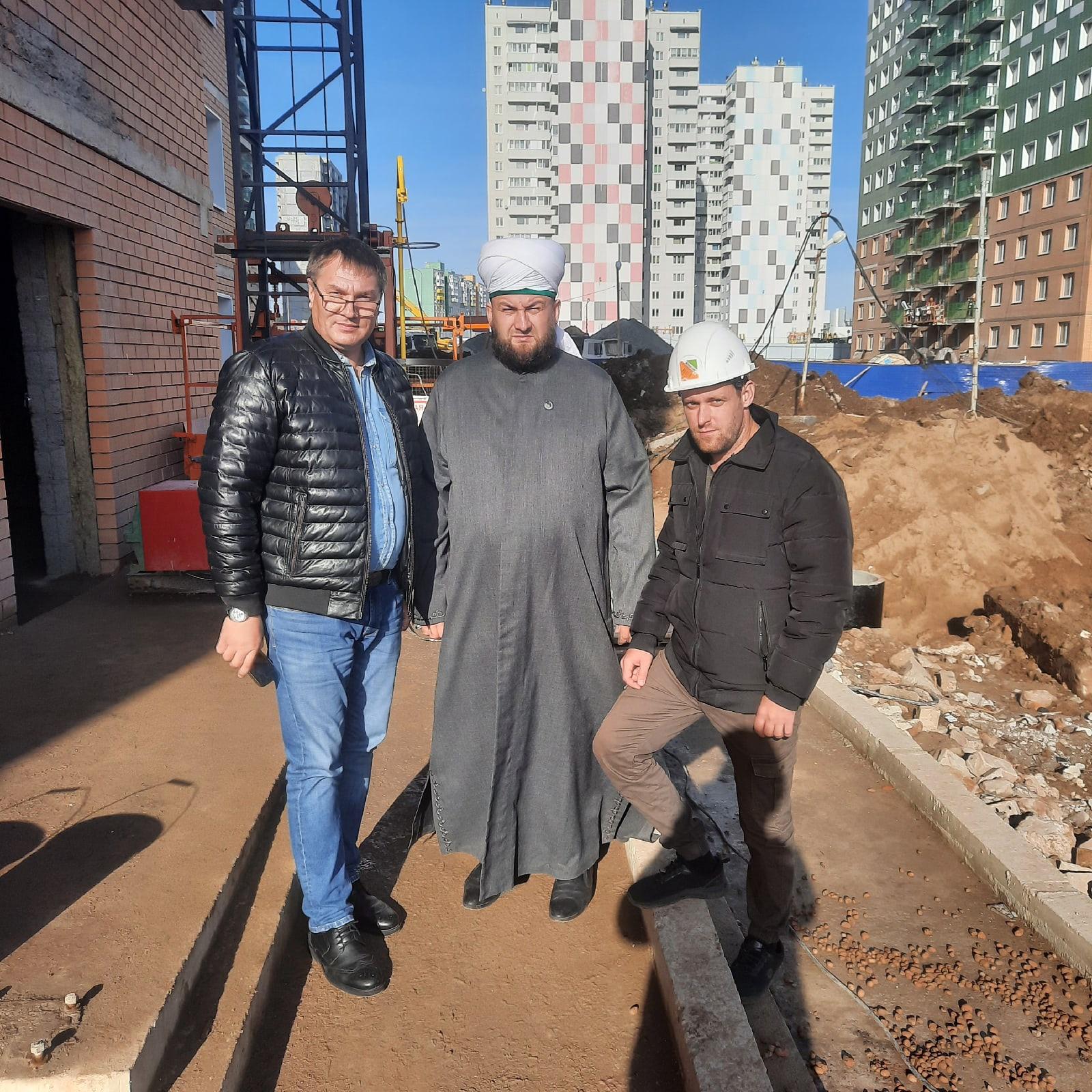 Рустам хазрат Рахматулла провел рабочую встречу с представителями ООО «Дом.59»
